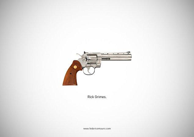 23. The Walking Dead - Rick Grimes