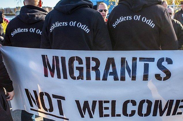 'Soldiers of Odin' yani Türkçe ismiyle 'Odin'in Askerleri' Finlandiyalı Neo-Nazi bir grup.