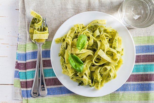 7. Basil Pesto Pasta