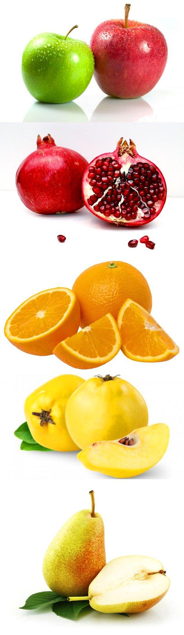İlk olarak Şubat meyvelerini hatırlayalım...