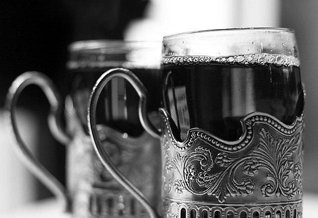 Dostoyevski tam bir çay tutkunuydu.
