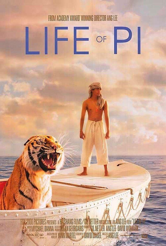 10. Life Of Pi - Pi'nin Yaşamı