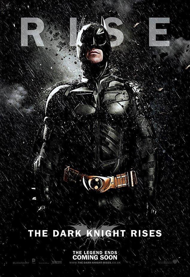 12. The Dark Knight Rises - Kara Şövalye Yükseliyor