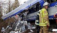 Almanya'da Tren Kazası: 10 Ölü