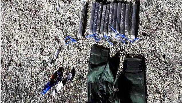 12-15 kg patlayıcı madde bulundu