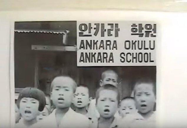 3. Savaş sırasında Türk birliğinin bulunduğu yerlerden biri olan Suwon'da askerler yetim kalan çocuklara bakmak için bir okul açmıştı.
