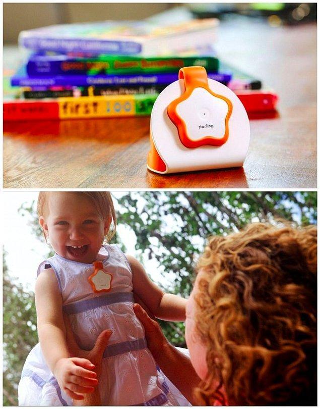 9. Bu cihaz bebeğinizin duyduğu ve söylediği kelimelerin kaydını tutuyor.