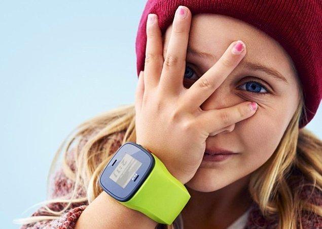 11. Bu akıllı saat ile çocuğunuzun nerede olduğunu kontrol edebilirsiniz.