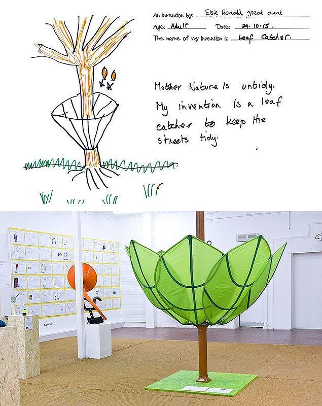7. Elsie'den yollara dökülen yapraklar için yaratıcı çözüm:
