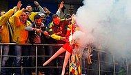 Galatasaray Flaması Yakan Fenerbahçeli Taraftara Dava
