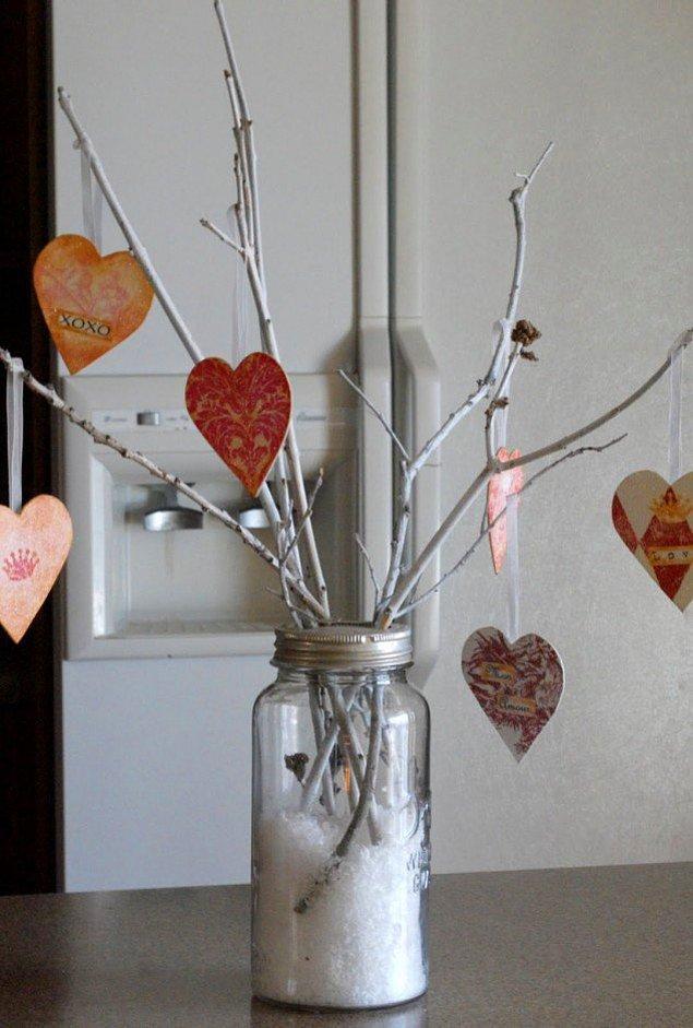Стеклянные банки могут быть романтичными...