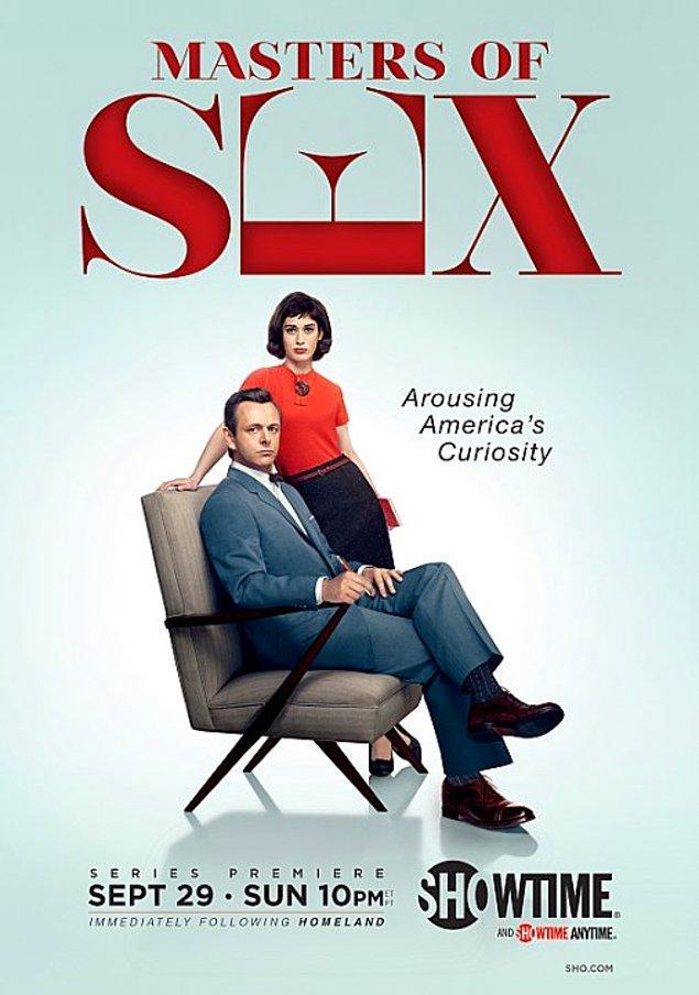 1. Masters of Sex (2013 - ) IMDb: 8.0