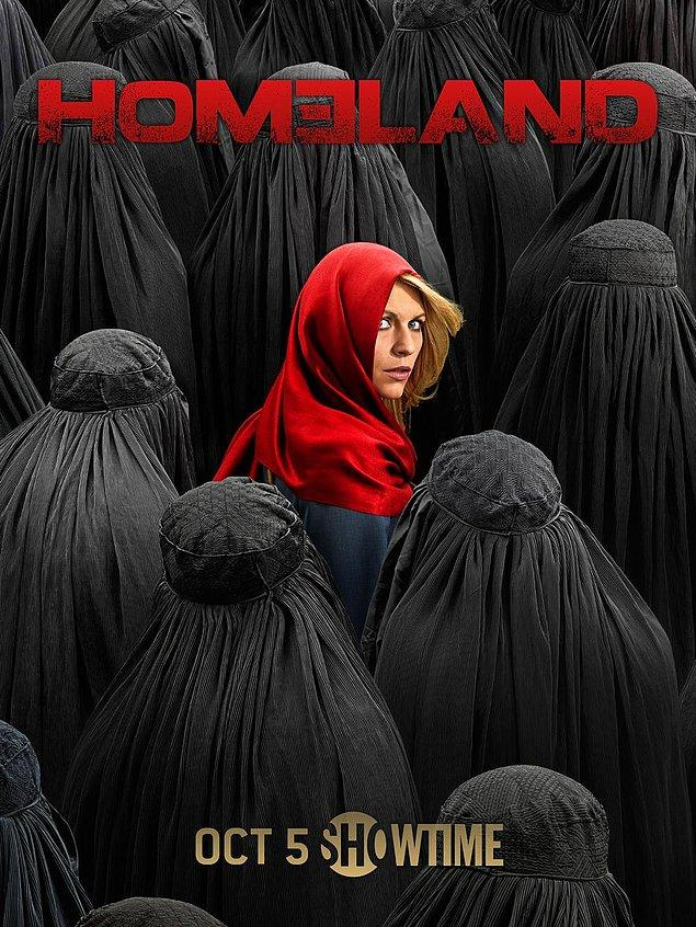 5. Homeland (2011 - ) IMDb: 8.4