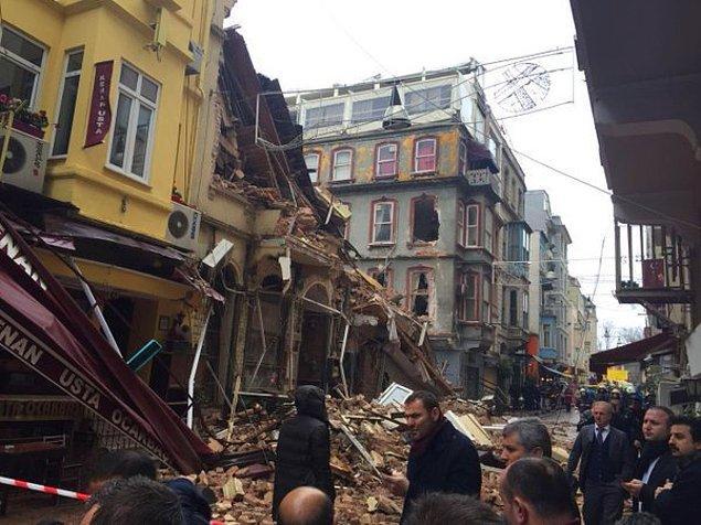 İstanbul Valisi: İlk bilgilere göre yaralı ya da can kaybı yok