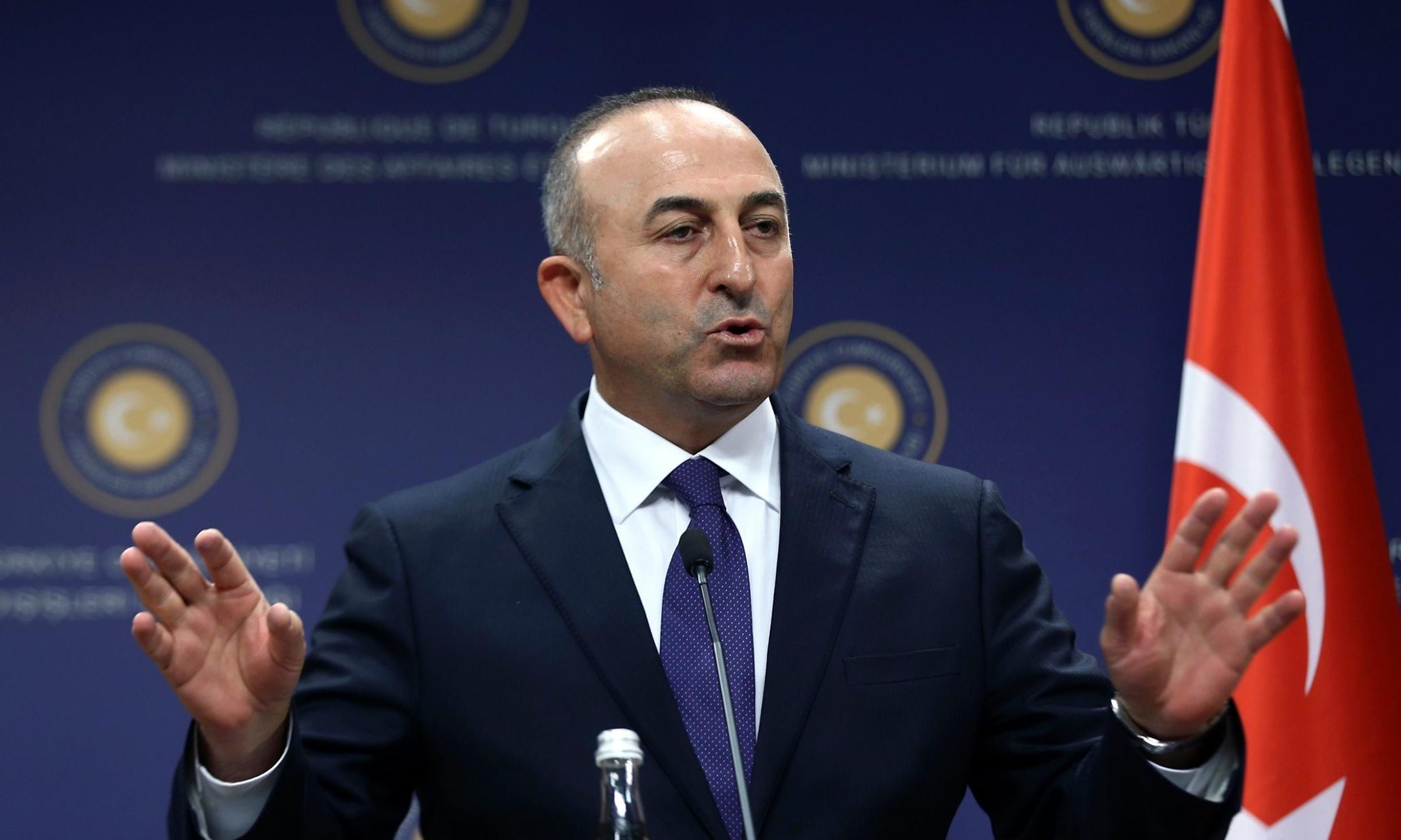 Image result for Çavuşoğlu