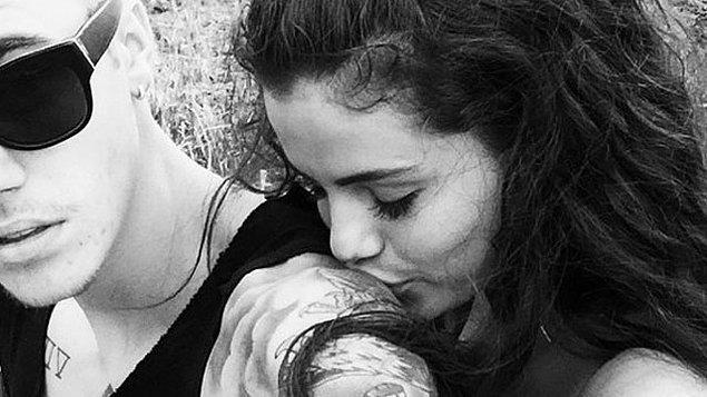 Bieber, Baldwin'le görüntülenmeden önce Selena Gomez'le fotoğraflarını Instagram hesabından paylaşıyor,
