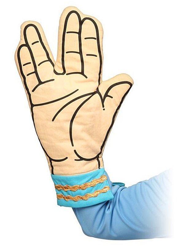 14. Bir garip fırın eldiveni
