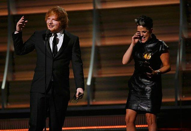 """Yılın Şarkısı'nı ise """"Thinking Out Loud"""" ile Ed Sheeran ve Amy Wadge kazandı"""