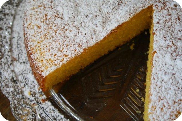 7. Beyaz un düşmanlarının bayılacağı kek işte burada!
