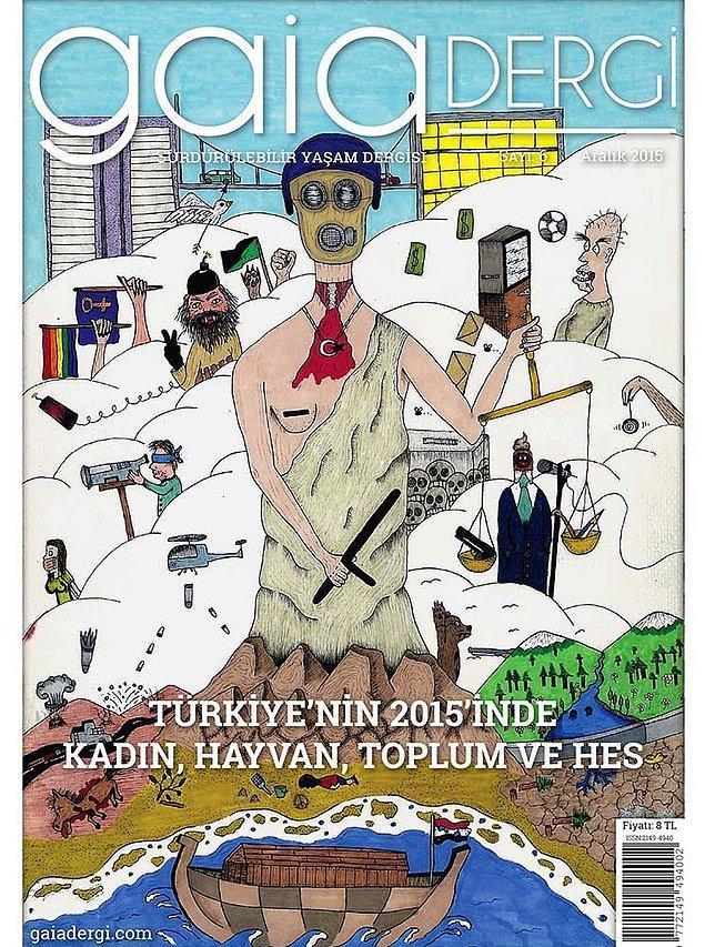 11. Gaia Dergi - Sürdürülebilir Yaşam Dergisi