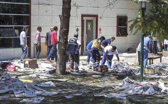 Suruç'la başlayan terör olayları