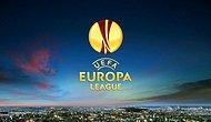 UEFA Avrupa Ligi'nde Gecenin Toplu Sonuçları