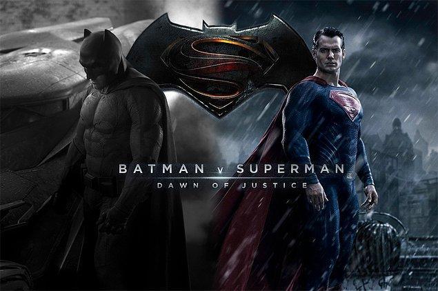 2. Batman v Superman: Dawn of Justice (25 Mart 2016)