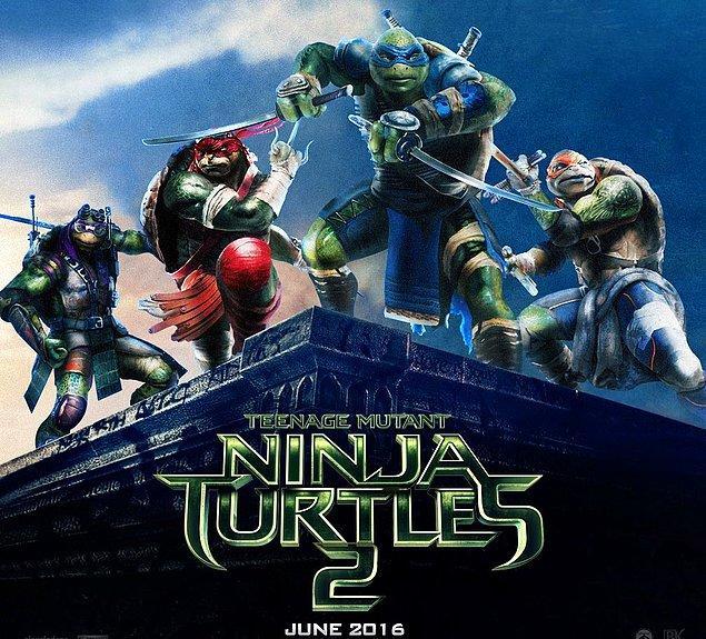 5. Teenage Mutant Ninja Turtles 2: Half Shell (3 Haziran 2016)