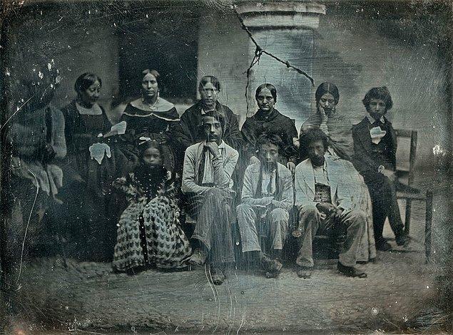 8. Meksikalı bir aile, 1847.