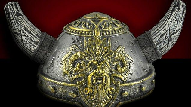 3. Vikingler kendileriyle özdeşleşmiş olan boynuzlu miğferleri hiçbir zaman giymemişlerdir.