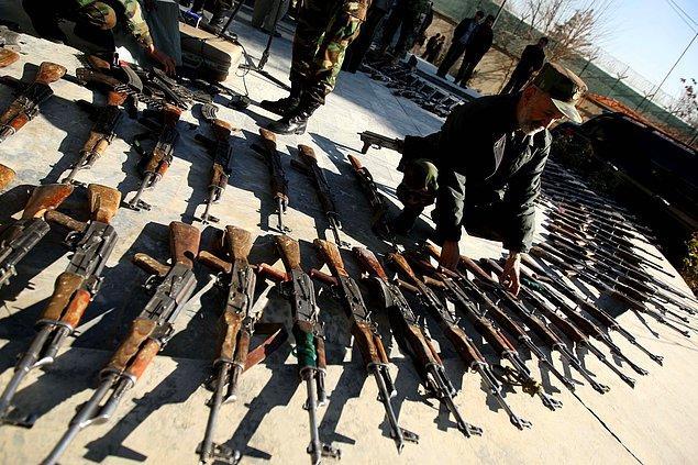 Meksika'nın silah ihracatı üç kat arttı