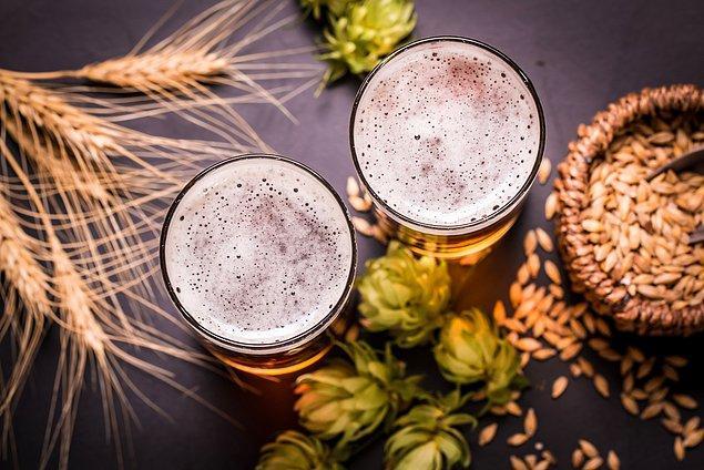 Buğdayların nemlenmesiyle bira ortaya çıkmış