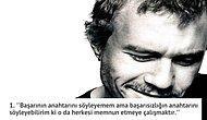 Kara Şövalye'nin Joker'i Heath Ledger'dan Hayata Dair Söylenmiş 12 Çarpıcı Söz