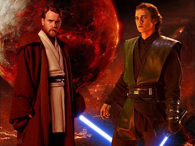 15. Tesla, Obi Wan Kenobi'dir; Edison, Anakin Skywalker.