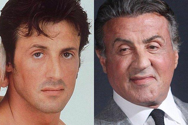 3. Sylvester Stallone