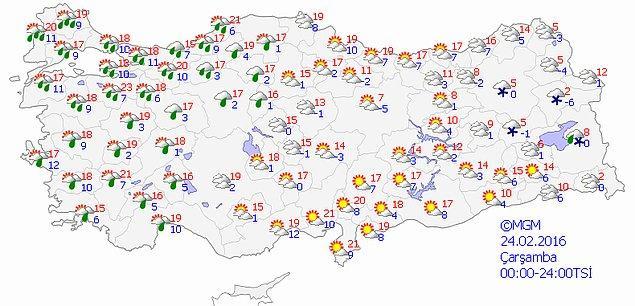 Türkiye Genelinde Önümüzdeki 4 Gün Hava