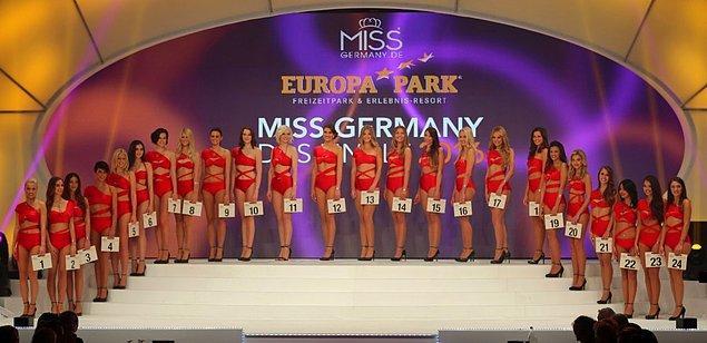 Finale kalan her genç kadın gibi onun da hayali Miss Germany 2016'da birinci gelmekti.