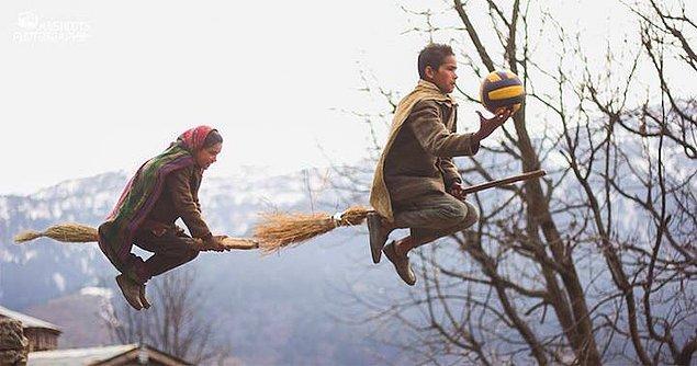 4. Agarwal'ın onlara bir takım özel güçler veremeyeceği açık olsa da, çocukları çok mutlu edecek bir projeye imza atıyor: