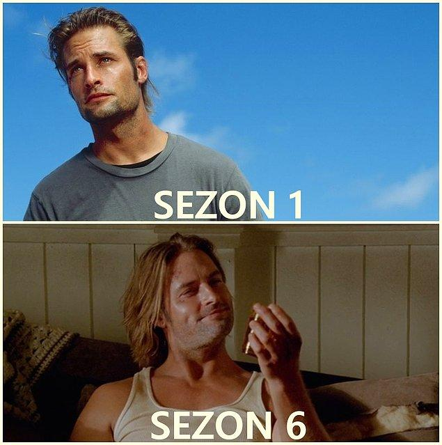 8. Sawyer (Josh Holloway)