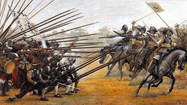 Savaşın taraftarları, kralcılar ve parlamenteristlerdi. Kralcılar, kralın mutlak yetkisi olması taraftarıyken, parlamenteristler kralın yetkisini yasayla sınırlandırmak istiyordu.