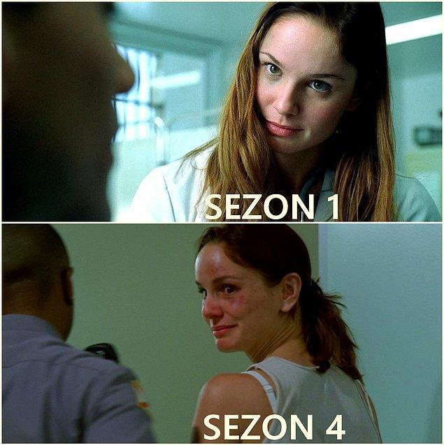 12. Dr. Sara Tancredi (Sarah Wayne Callies)