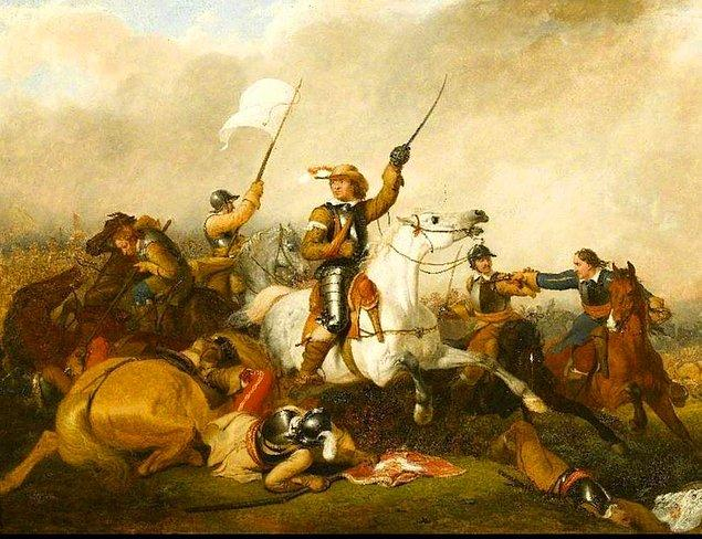 İlk liderlik başarılarını askeri alanda alan Cromwell, kısa süre içinde orduda yükselerek general rütbesini aldı.