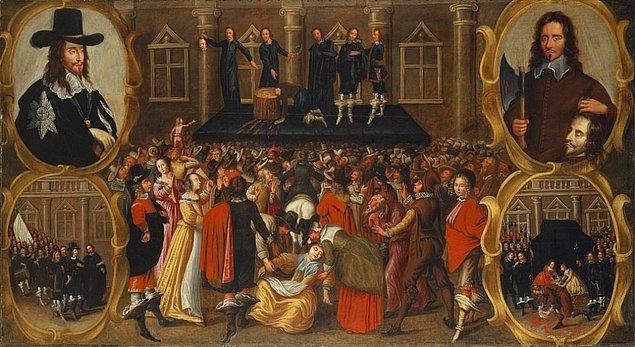 Cromwell, ikinci grupta yer alıyordu ve savaştaki başarıları ve liderliği sebebiyle, 59 parlamento üyesini arkasına alıp kralı ölüme gönderen hükmü imzaladı.