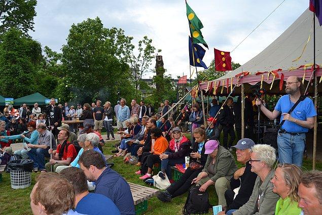 Christiania'yı ilgilendiren bütün kararlar ortak mecliste alınıyor.