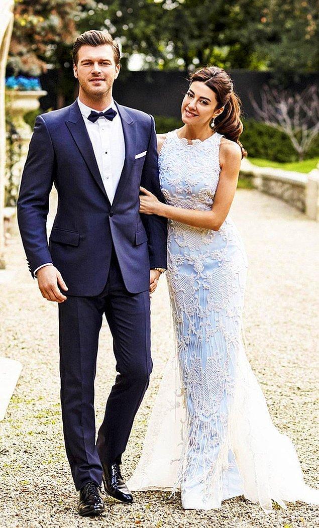 Kıvanç Tatlıtuğ ve Başak Dizer 19 Şubat'ta, Paris'te gerçekleşen küçük bir düğünle evlendiler.