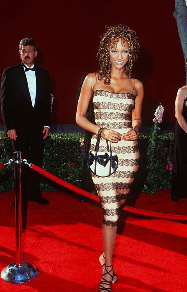 3. Tyra Banks, 1996