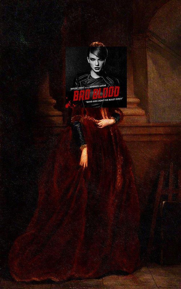 11. Albüm: Bad Blood - Taylor Swift
