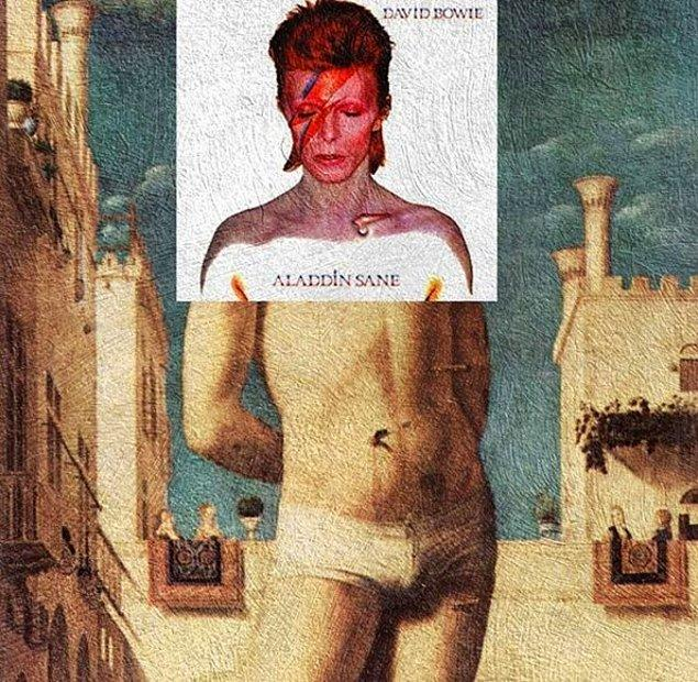 19. Albüm: Aladdin Sane - David Bowie