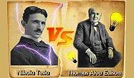 Nikola Tesla ve Thomas Edison Arasındaki Kimsenin İnkar Edemeyeceği 17 Keskin Fark
