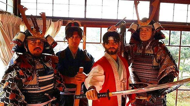 Samuray Ruhları Kabarırken Boru-san Quartet